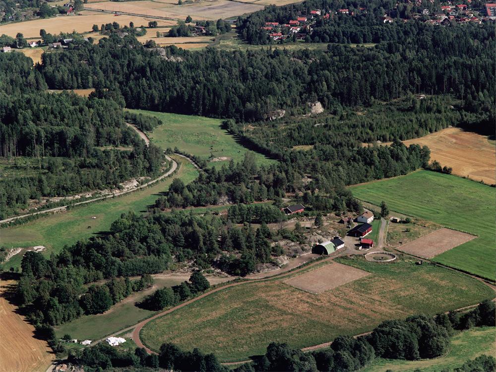 Unghestsenteret i Vestfolds fasiliteter